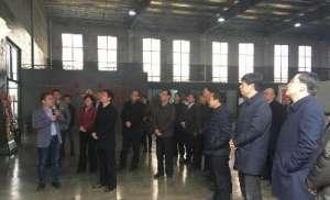 芜湖市委书记潘朝晖一行莅临安美利特调研消声室